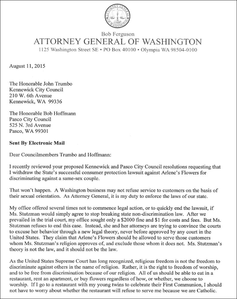 AG Letter 1