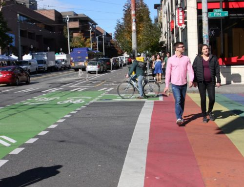 "Atlanta Follows Seattle's Lead by Installing Permanent Rainbow ""Pride"" Crosswalks"