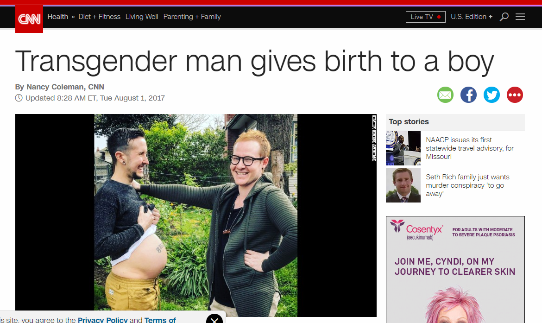 Seriously? Transgender ...