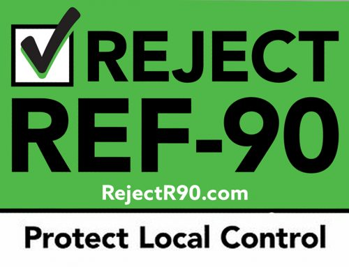 "Vote ""REJECT"" on R-90 to REPEAL SB5395"