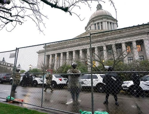 Why is Washington's Legislature Still Locked Down?